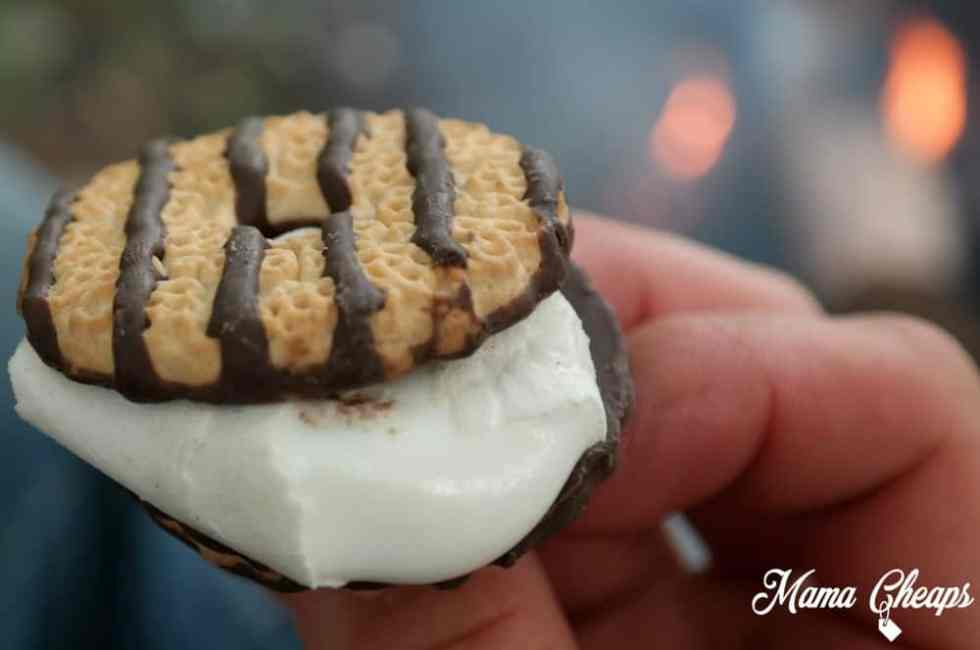 Fudge Stripe Cookies Smores
