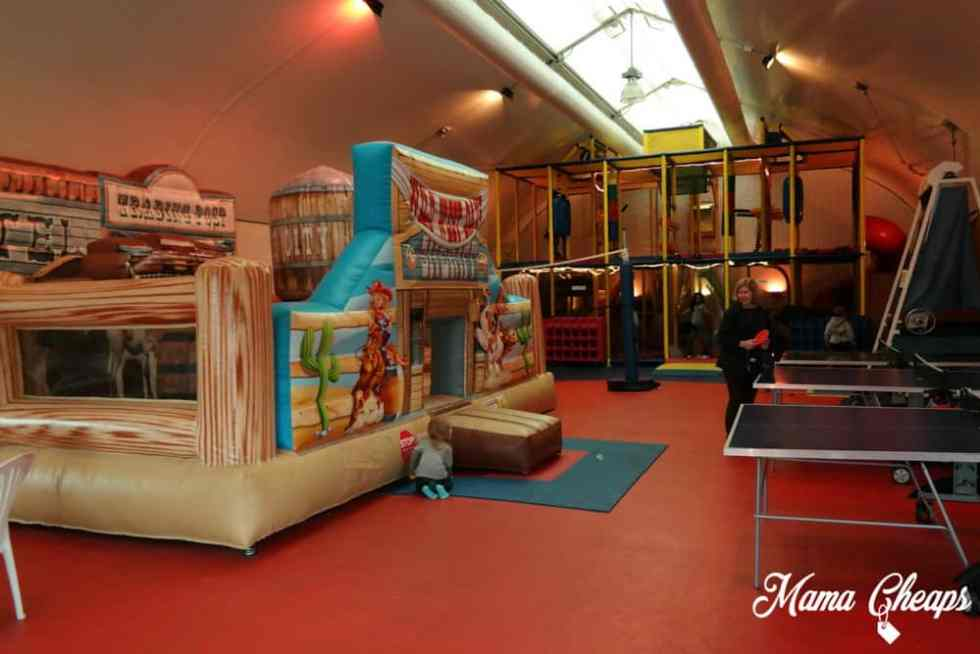 Rocking Horse Ranch Inside Fun Barn