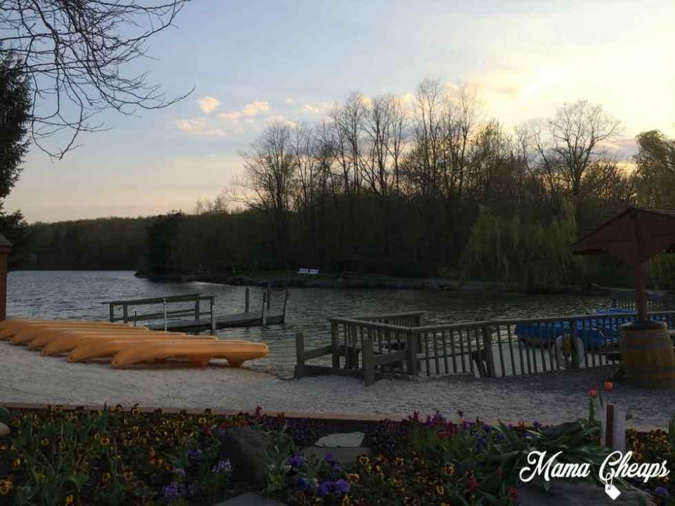 Rocking Horse Ranch Lake at Sunset