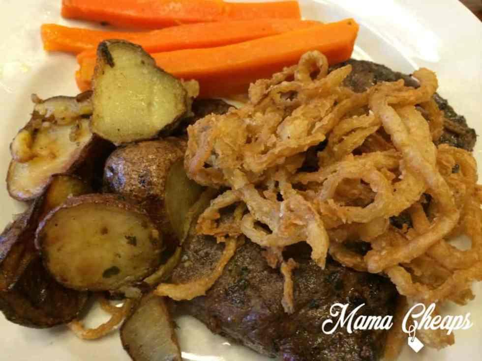 Rocking Horse Ranch Steak Dinner