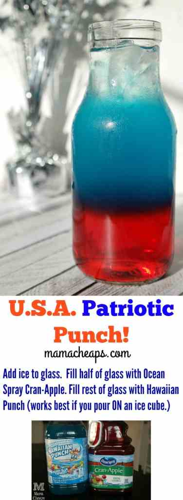USA Patriotic Punch
