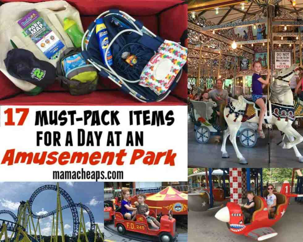 What to Pack for the Amusement Park