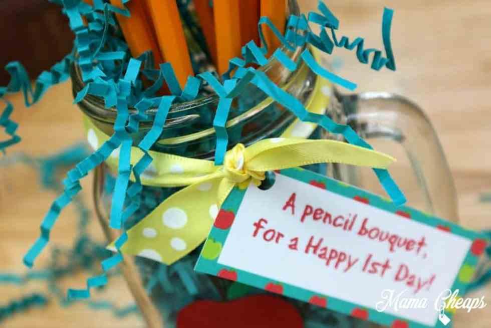 Pencil Bouquet Close Up