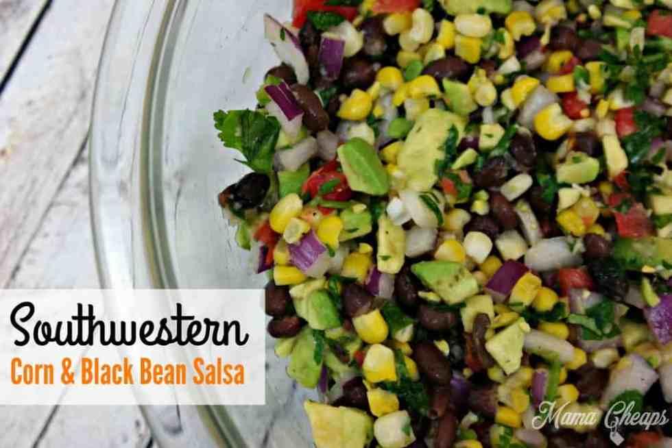 Southwestern Corn Black Bean Salsa