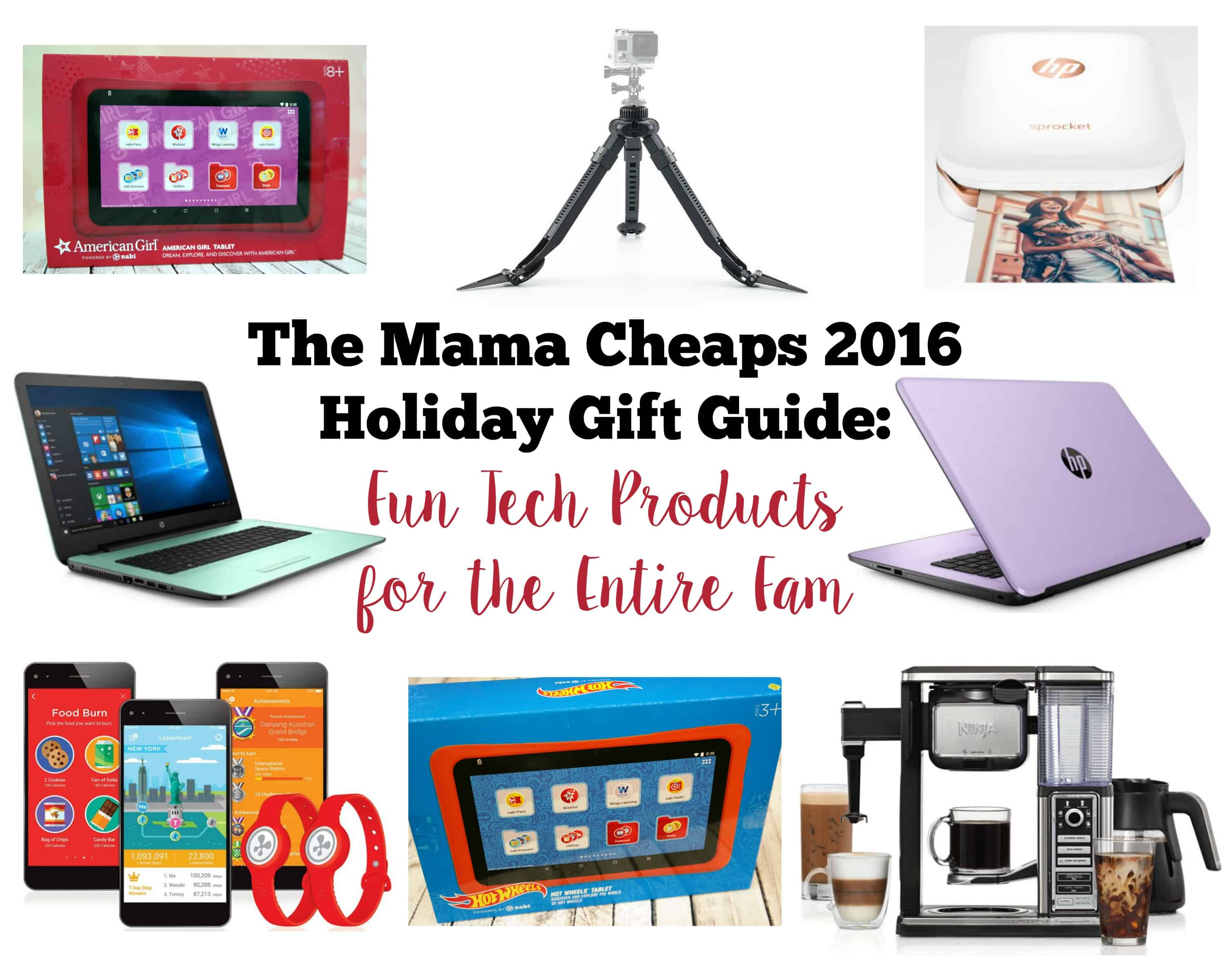 Mama Cheaps 2016 Holiday Gift Guide Fun Tech Products For