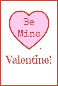 Be Mine Tag
