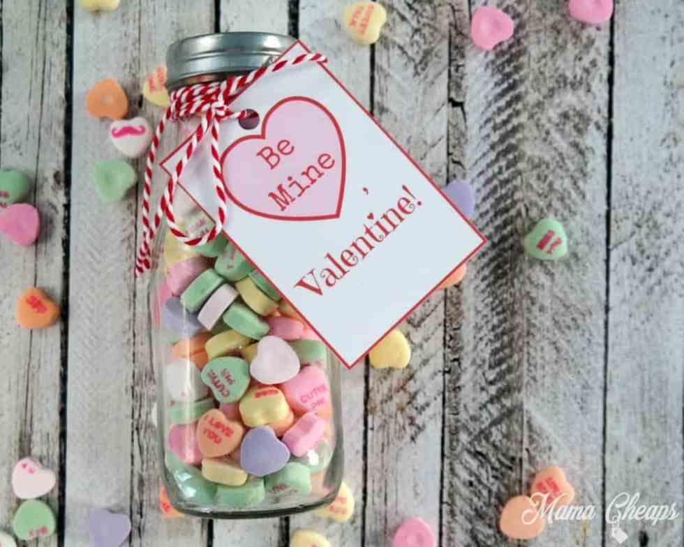 Conversation Candy Hearts Valentine Idea