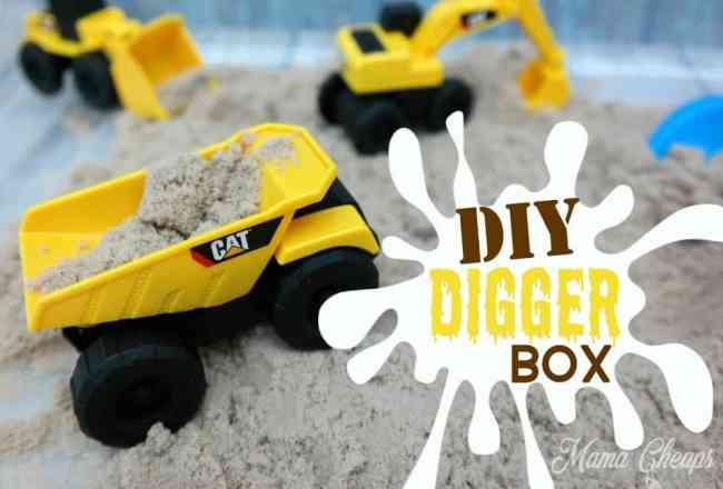 DIY Digger Sand Toys