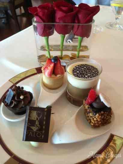 Dessert at Palo Brunch