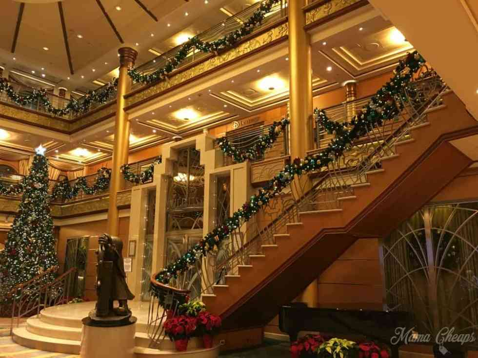 Disney Magic Cruise Christmas Decorations