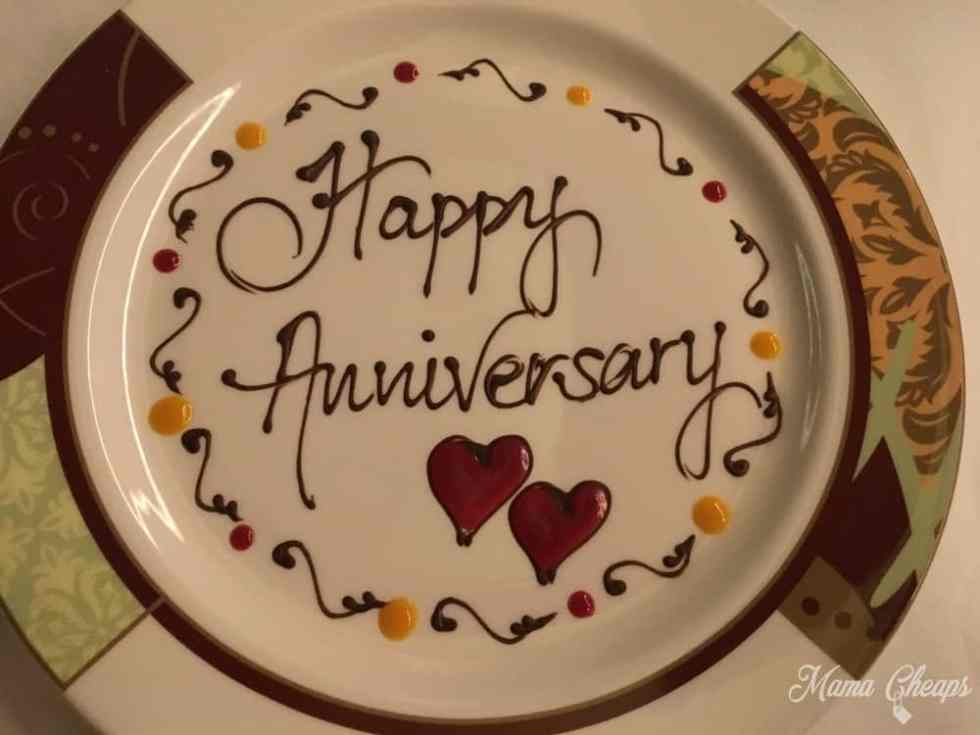 Happy Anniversary on Disney Cruise