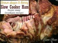 Slow Cooker Spiral Ham Dinner