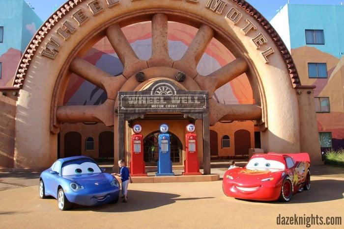 AOA Cars Land McQueen