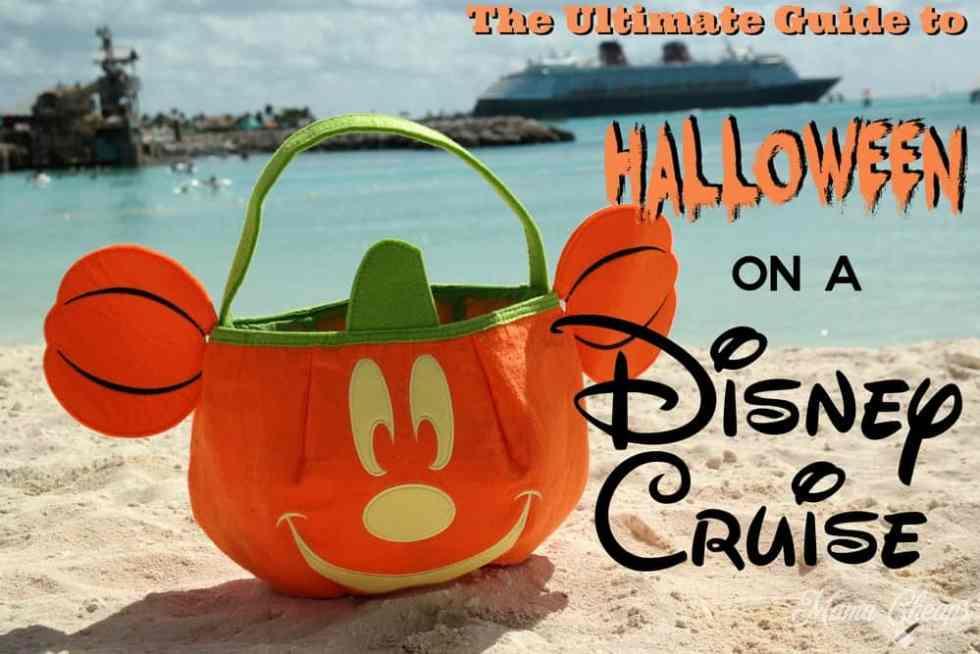 Disney Halloween Cruise Guide