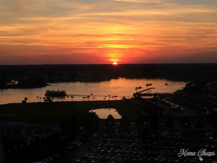 Disney World Sunset