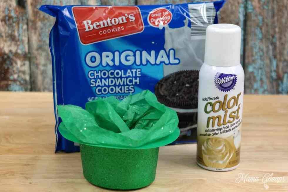 Leprechaun Cookie Ingredients