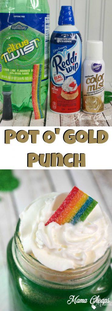 Pot O Gold Punch DIY Drink