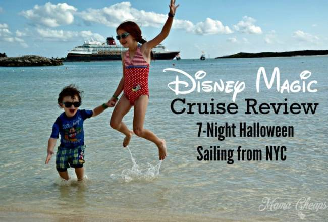 Disney Halloween Cruise Review