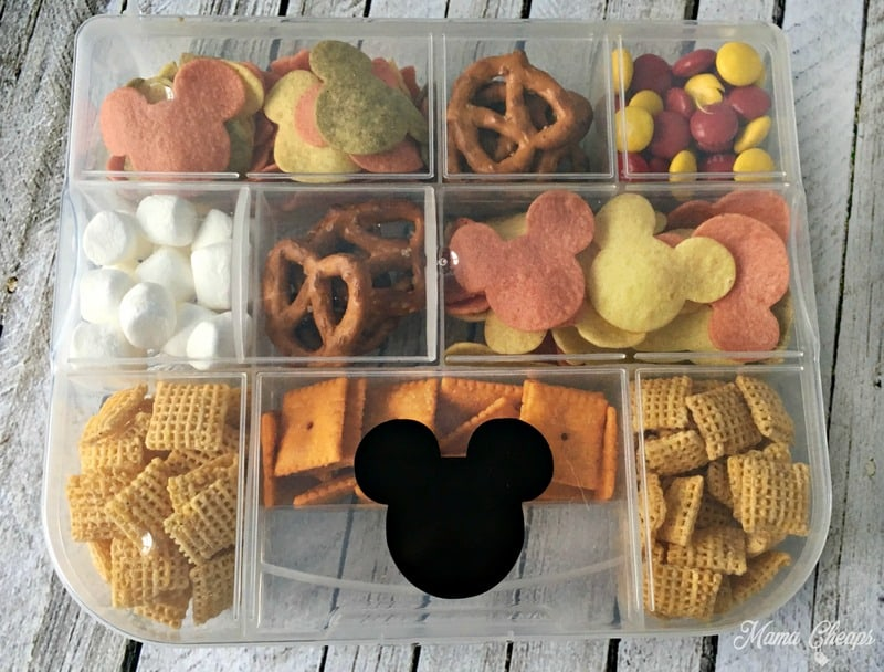 Mickey Mouse Road Trip Snack