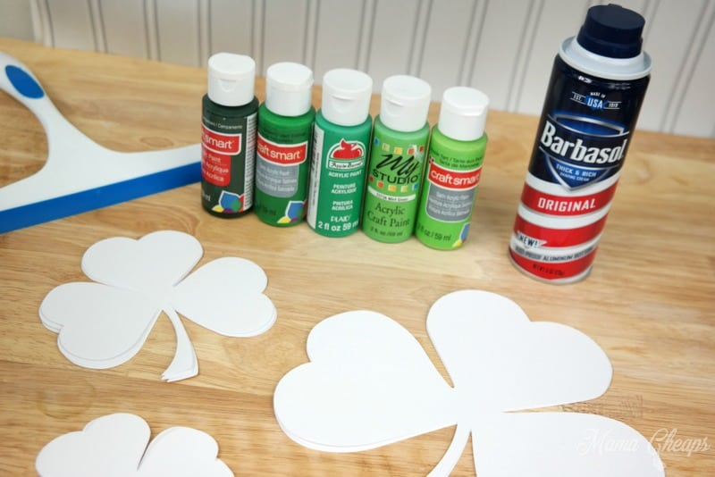 Paint and Shaving Cream