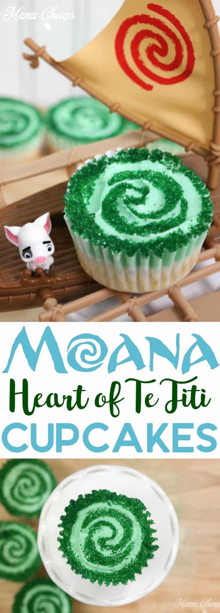Heart Of Te Fiti Birthday Cake