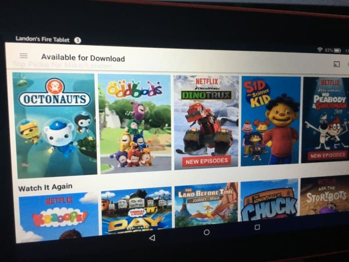 Netflix Kids Available Download