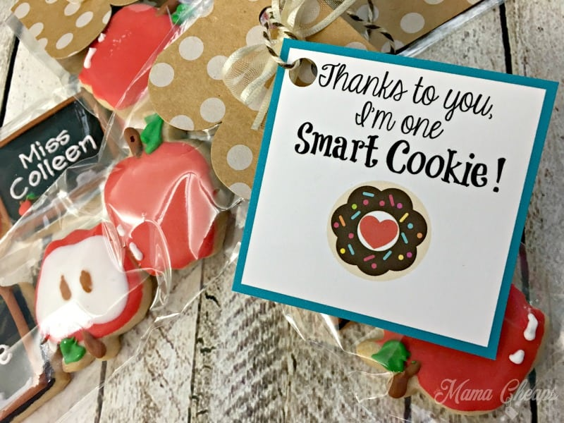 Cookie Gift for Teachers