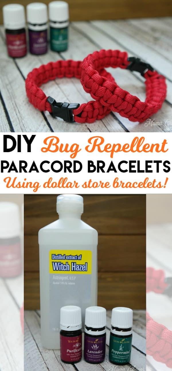 DIY Bug Repellent Bracelets