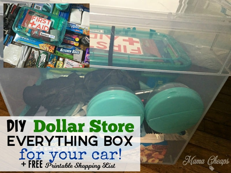 DIY Supply Box for Car