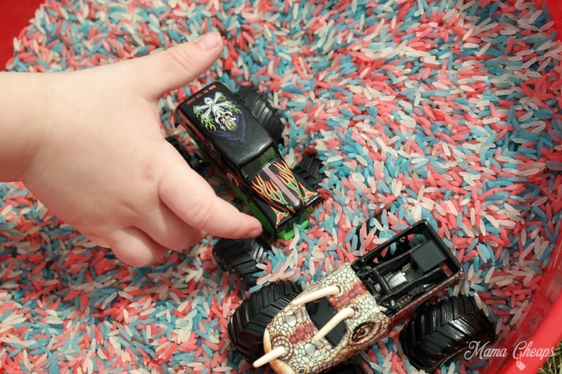 Playing with Monster Truck