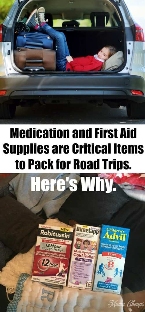 Critical Items to Pack for Road Trips Tips
