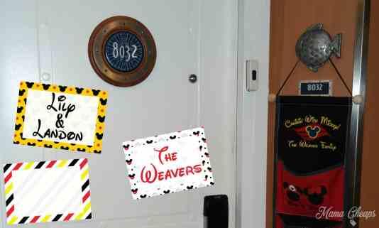 disney cruise door