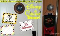 Free Printable Disney Cruise Cabin Door Decorations | Mama ...