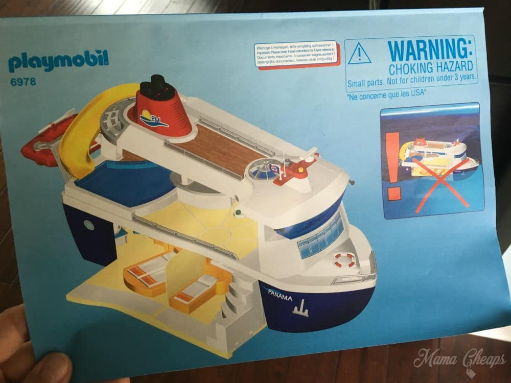 PLAYMOBIL Cruise Ship Toy Review Mama Cheaps - Toy cruise ship