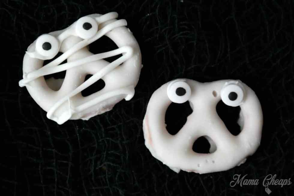 Chocolate Dipped Halloween Treats