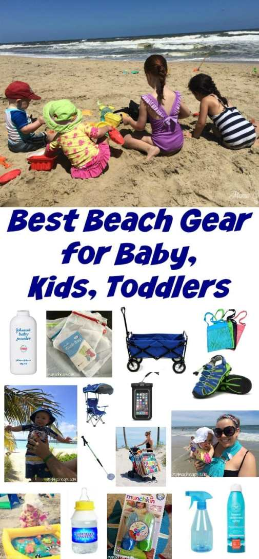Best Beach Gear for Baby, Kids, Toddlers
