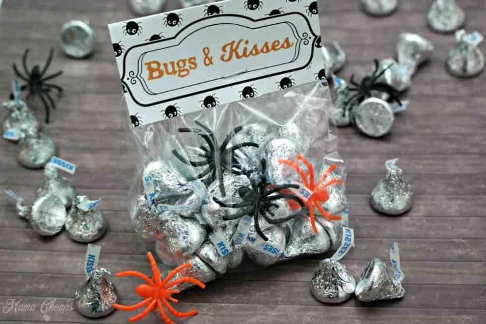 Bugs and Kisses Halloween Treats