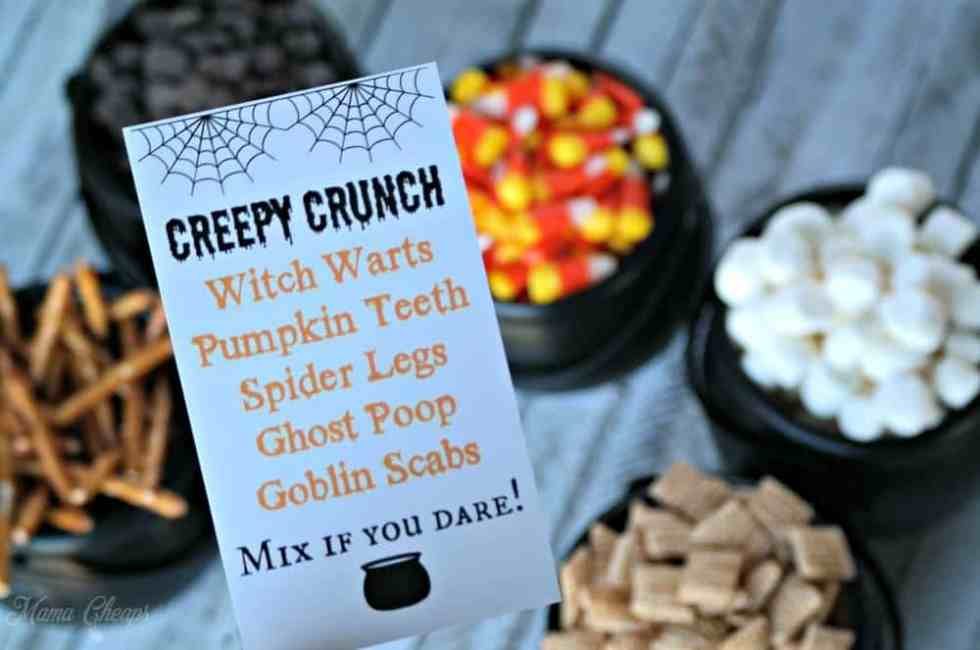 Creepy Crunch Recipe