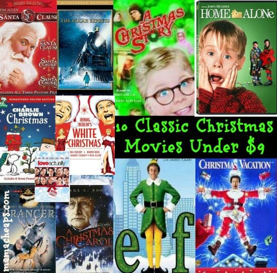 Christmas Movie Deals 10 Classic Movies On Dvd Under 9
