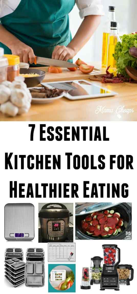 Essential Kitchen Tools for Healthier Eating