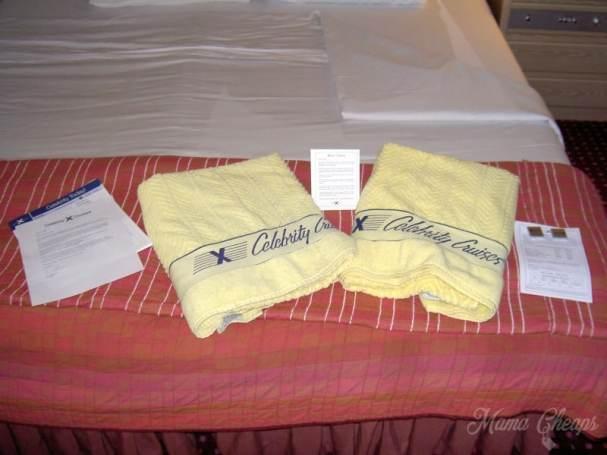 Celebrity Cruise Beach Towels