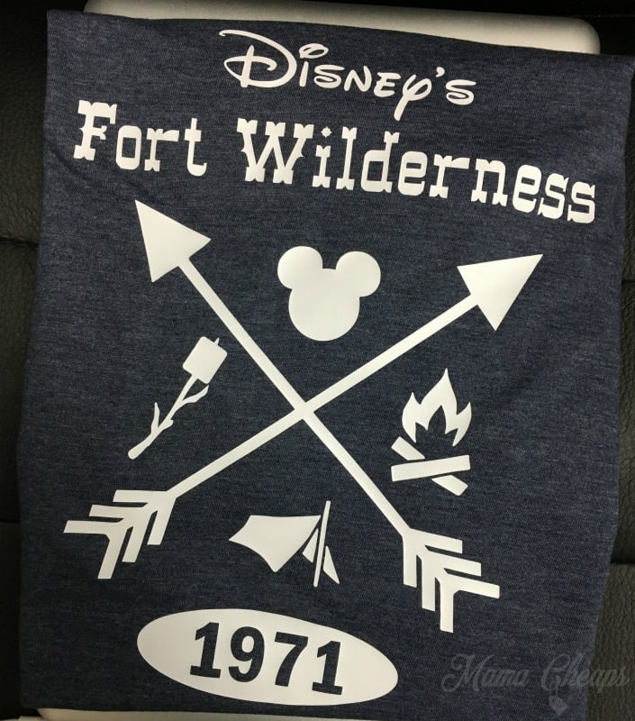 Diy Shirt Ideas For Disney S Fort Wilderness Campground
