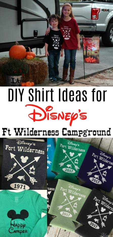 Disney Ft Wilderness Shirts