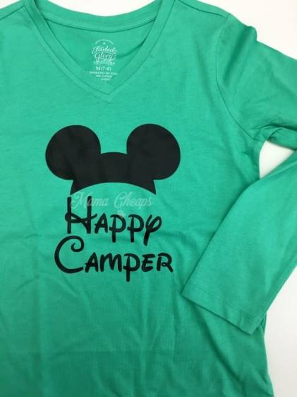 Disney Happy Camper Shirt
