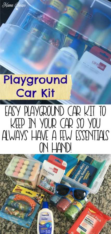 How to Make Playground Car Kit