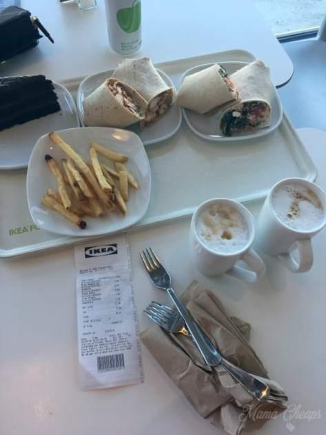 IKEA lunch
