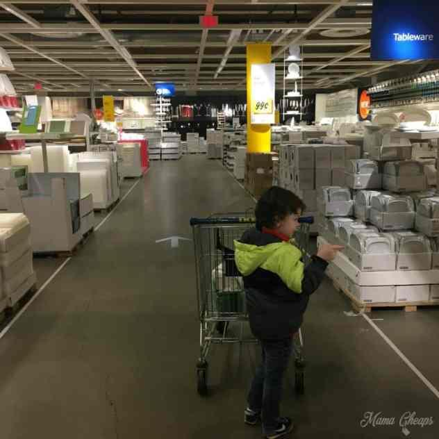 Landon at IKEA