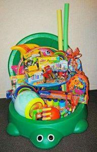 sand box easter basket