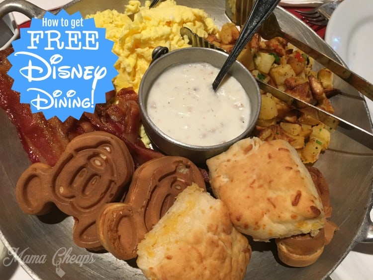 How to get FREE DINING at Disney