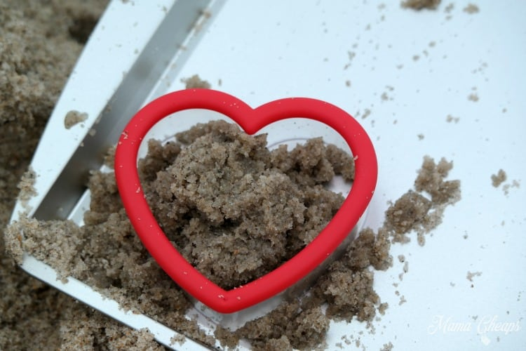 Cookie Cutter Sand